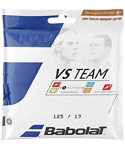 - Babolat VS Team Natural Gut Tennis String-17g