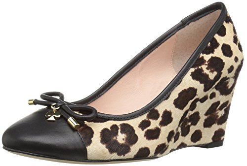 Kate Spade New York Womens Kacey Wedge Pump Arrossire / Marrone