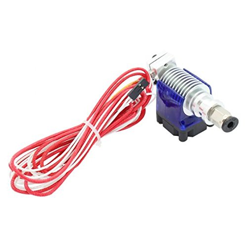 Aarya 3D E3D V6 All Metal J-Head Hotend Extruder 1.75mm Filament 0.4mm Nozzle with Fan Duct Price & Reviews