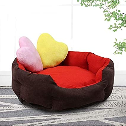 Amazon.com : Soft Warm Dog Bed 7 Colors 3 Sizes Waterproof ...