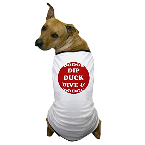 Dodgeball Globo Gym Costume (CafePress - DODGE Dog T-Shirt - Dog T-Shirt, Pet Clothing, Funny Dog Costume)