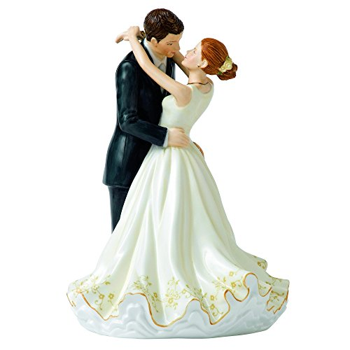 Royal Doulton Occasions Forever Cake Topper Figurine, 9.25'' by ROYAL DOULTON