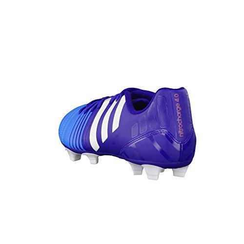 Adidas - Nitrocharge 40 FG - Color: Azul-Azul marino - Size: 43.3