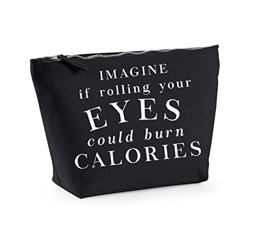 And Kelham Burn Print Rolling Imagine Up Calories white Black Eyes Bag Organiser Could Your Accessory Cosmetics If Make wttrd6