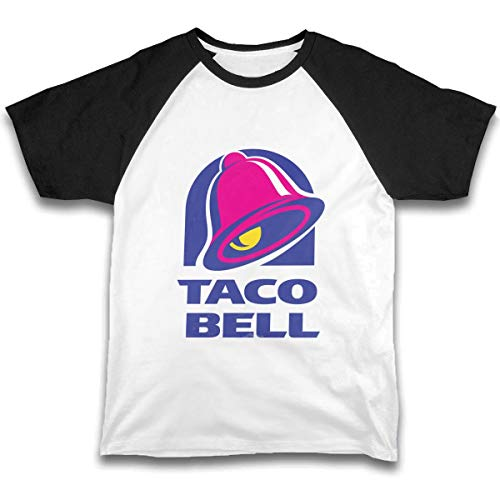 Majestic Bell with Taco Baby Boys Short Sleeve Cotton T-Shirts Funny Toddler Infant Kids Casual Tee Black