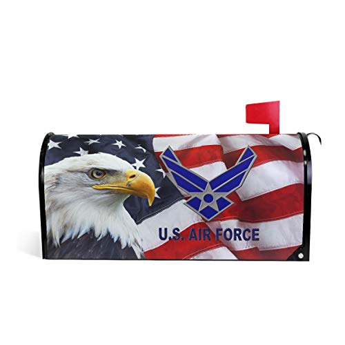US American Air Force USAF Magnetic Mailbox Cover Wraps Letter Post Box Outdoor Decor 20.7