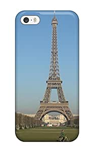 Hot Tpu Cover Case For Iphone/ 5/5s Case Cover Skin - City Of Paris
