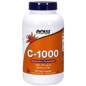 NOW Foods C-1000 Capsules 250 Capsules