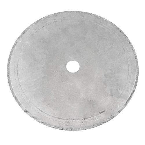 Yadianna 鋸刃、10インチ250ミリメートルダイヤモンドジュエリーセグメントソーブレード宝石細工切断ディスク切削工具