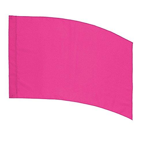 DSI Color Guard Practice Flag (PCS) - Curved Rectangle - Pink