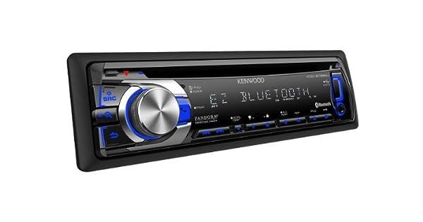 Kenwood KDC-BT652U 1-DIN In-Dash CD/MP3/WMA Car Stereo