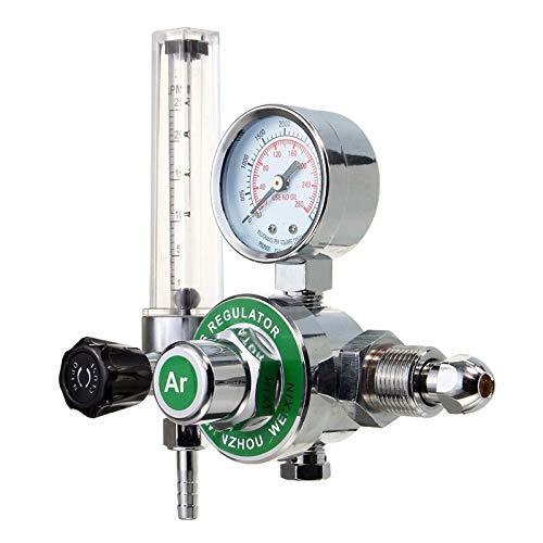 (Flow Meters Argon CO2 Gas MIG TIG Flow Meter Welding Weld Regulator Gauge for Welder CGA580 FITS | by NAHASU)