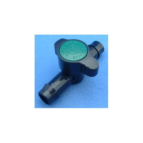 "½"" Barbed Poly Hose Shutoff Valve - Compatible with (16 mm) .710 O.D. X .620 I.D. Poly Hose. (Please Read Product Description Thoroughly!)"