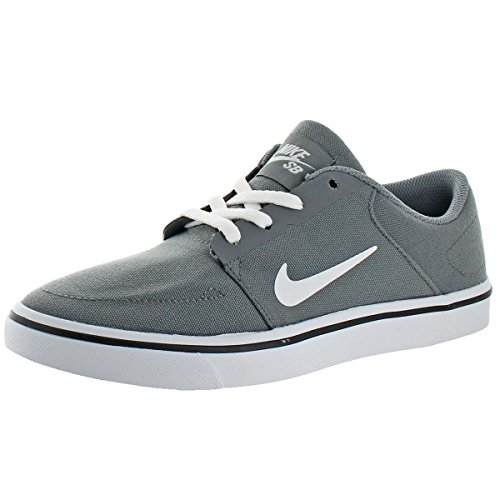 NIKE Mens Portmore Canvas Canvas Low Top Skate Shoes