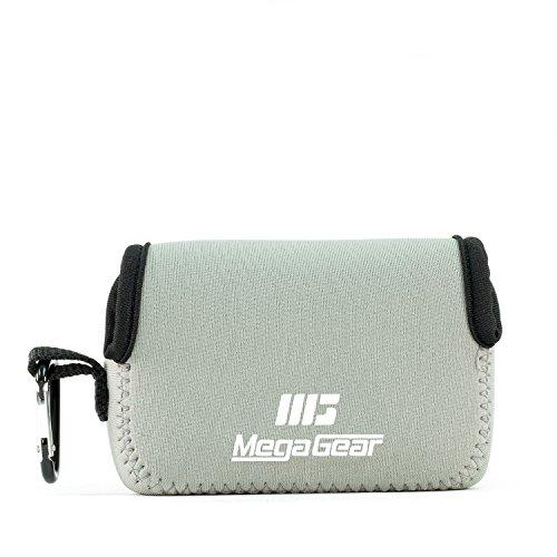 MegaGear MG1246 Canon PowerShot SX740 HS, SX730 HS, SX720 HS, SX710 HS, G16, G15 Ultra Light Neoprene Camera Case - Gray