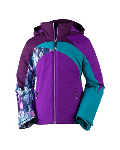 Obermeyer Kids Girl's Tabor Jacket (Little Kids/Big Kids) Violet Vibe Large