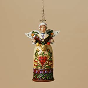 Jim Shore Williamsburg Christmas Angel Ornament