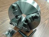 10'' 4-JAW SELF-Centering Lathe Chuck top & Bottom Reversible Jaws 1004F0-SF-new