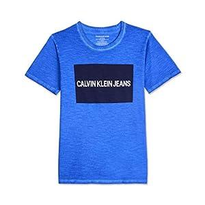 Best Epic Trends 41zj58MHF-L._SS300_ Calvin Klein Big Boys' Institution Logo Crew Neck tee Shirt