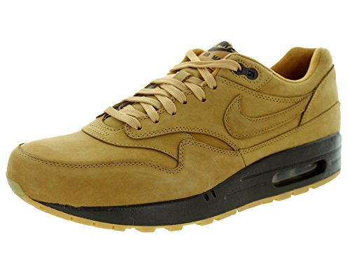 Nike Mens Air Max 1 Flax / Baroque Brown-Flax Trainer