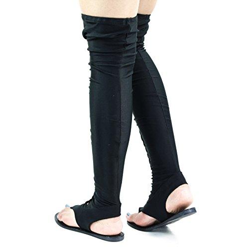 9aa78810c436 Lycra Braided Flat Thong Sandal