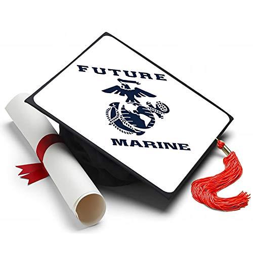 - Tassel Toppers Marine Corps - Graduation Caps for Future Marines - Semper Fi - Decorated Grad Caps (Future Marine)