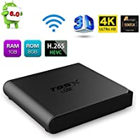 T95X Mini Android 6.0 TV Box Ultra HD 4K Amlogic S905X Quad Core with WiFi 1G/8G Smart TV Box