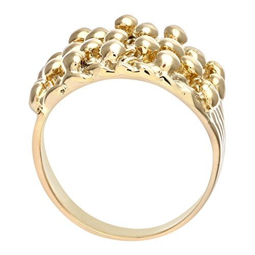 Citerna Men's 9 ct Yellow Gold Keeper Ring UnQKEzH