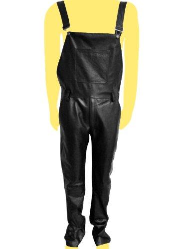 Leather Bib Overalls - 6