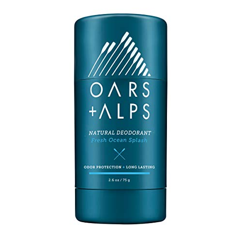 Oars + Alps Natural Deodorant | Fresh Scent, Aluminum-Free, Alcohol-Free, Fights Odor. 2.6 oz