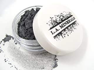 """product image for Mineral Eyeshadow - """"Slate Gray"""" - L.A. Minerals Matte Eyeshadow Made in USA - no Talc, Bismuth, Phthalates or Nano Particles"""