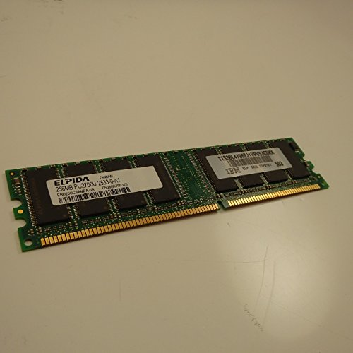 31P9121 Ibm 256Mb Ddr 333Mhz Pc2700 184-Pin Cl2 Non-Ecc Unbuffered Di (256 Mb Cl2 Memory Upgrades)