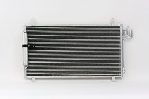 A-C Condenser - Pacific Best Inc For/Fit 4704 03-07 Infiniti G35 Coupe 03-06 G35 Sedan w/Receiver & Dryer