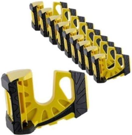 10-Pack Wedge-es Ultimate Door Stop - Yellow