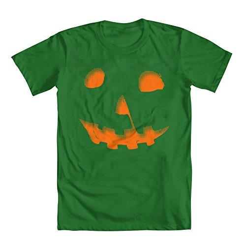 Men's Michael Meyers Halloween Pumpkin T-Shirt Kelly Green XXX-Large -