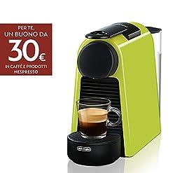 Nespresso Essenza Mini De'Longhi EN85.W Macchine del Caffe, 1370 watt, Bianco