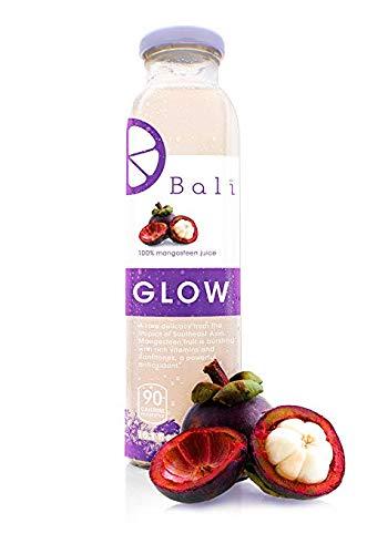 Bali GLOW 100% Pure Mangosteen Juice (12-Pack)