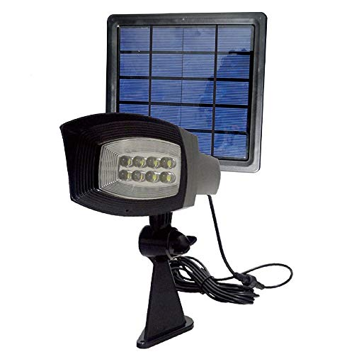 Pole Mounted Solar Security Light in US - 8