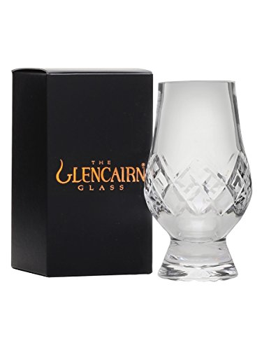 The Glencairn Cut Crystal Whisky Tasting Glass - Cut Crystal Glass Box
