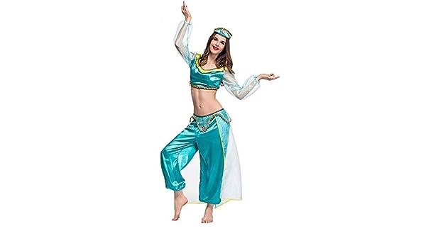 Disfraz de Genie de Jazmín para adulto: Amazon.es: Hogar