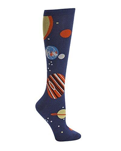 Sock It to Me, Planets, Women's Knee-High Funky Socks, Universe, Galaxy Socks