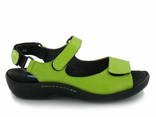 Pichu Wolky Leather Women's 30750 Lime 5gnWv8qg
