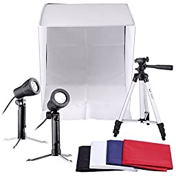 Neewer Table Top Square Photography Studio Tent Lighting Kit: 16x16\