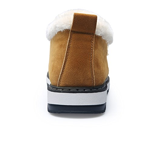 da uomo coreano scarpa inverno cachi Stile Boots neve neve YUTUTU Weather neve caricamento Cold scarpa pioggia caldo da stile velet sistema di del doppio d7q4AxU5