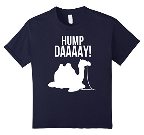 Kids Wednesday Happy Hump Day Camel Funny T-Shirt 6 Navy