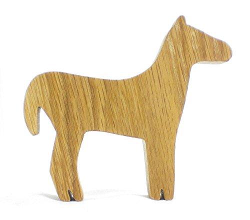 Farm Animal Wooden Toy Horse