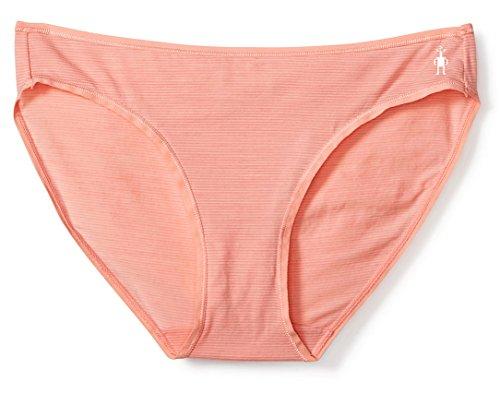 Wool Knickers - SmartWool Women's Merino 150 Pattern Bikini (Mineral Pink) X-Large