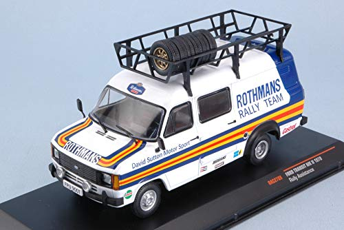FORD TRANSIT MKII 1979 ASSISTANCE RALLY 1 43 - Ixo Model - Auto Rally - Die Cast - Modellino