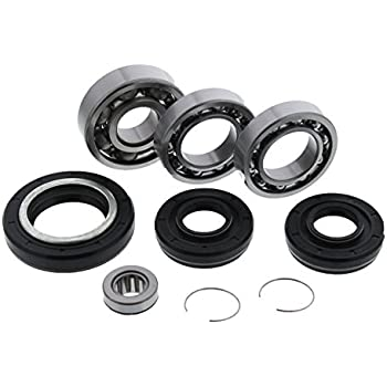 YAMAHA YFM 400 FW BIG BEAR 4*4 ATV Bearings Kit Both Sides Front Wheel 2000-2006