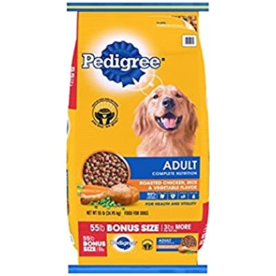 Pedigree Adult Complete Nutrition Dog Food (55 lbs.) (pack of 2)